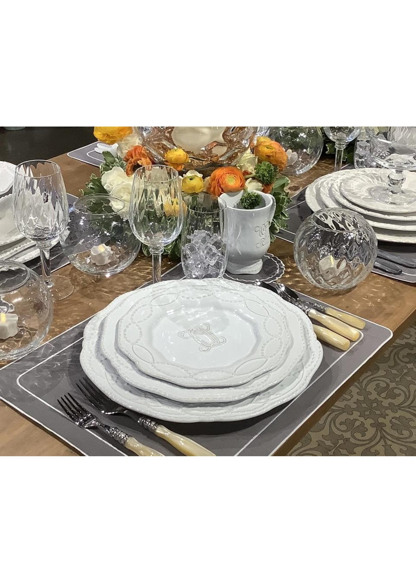 Skyros Legado Engraved Salad - White