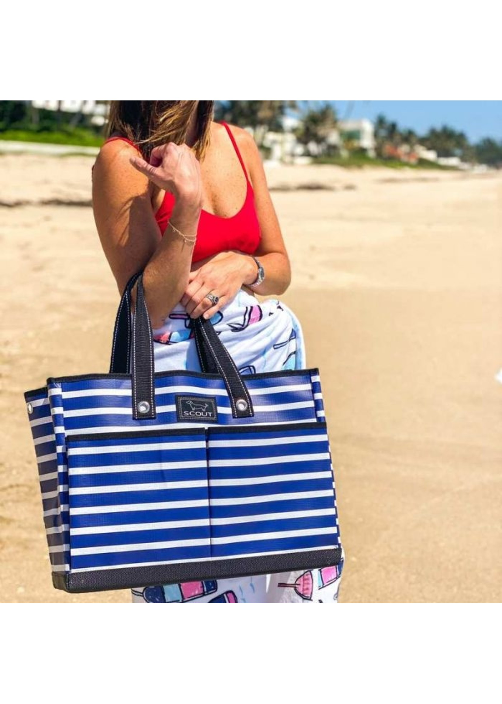 scout by bungalow Scout The BJ Bag Nantucket Navy