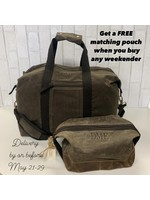 CB Station IOW Weekender Bundle - Waxed Olive