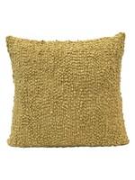 Creative Co-op Wool Blend Boucle Pillow - Green