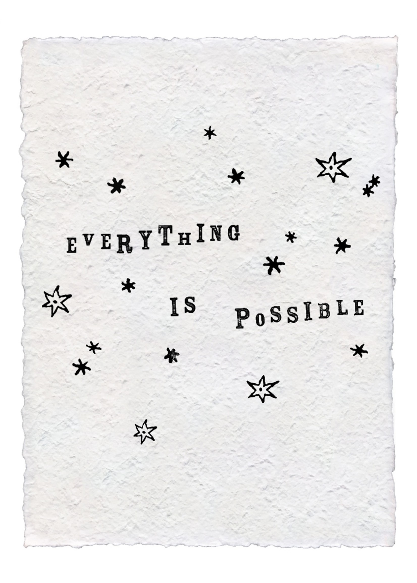 Sugarboo Sugarboo & Co. Paper Print - Everything Is Possible