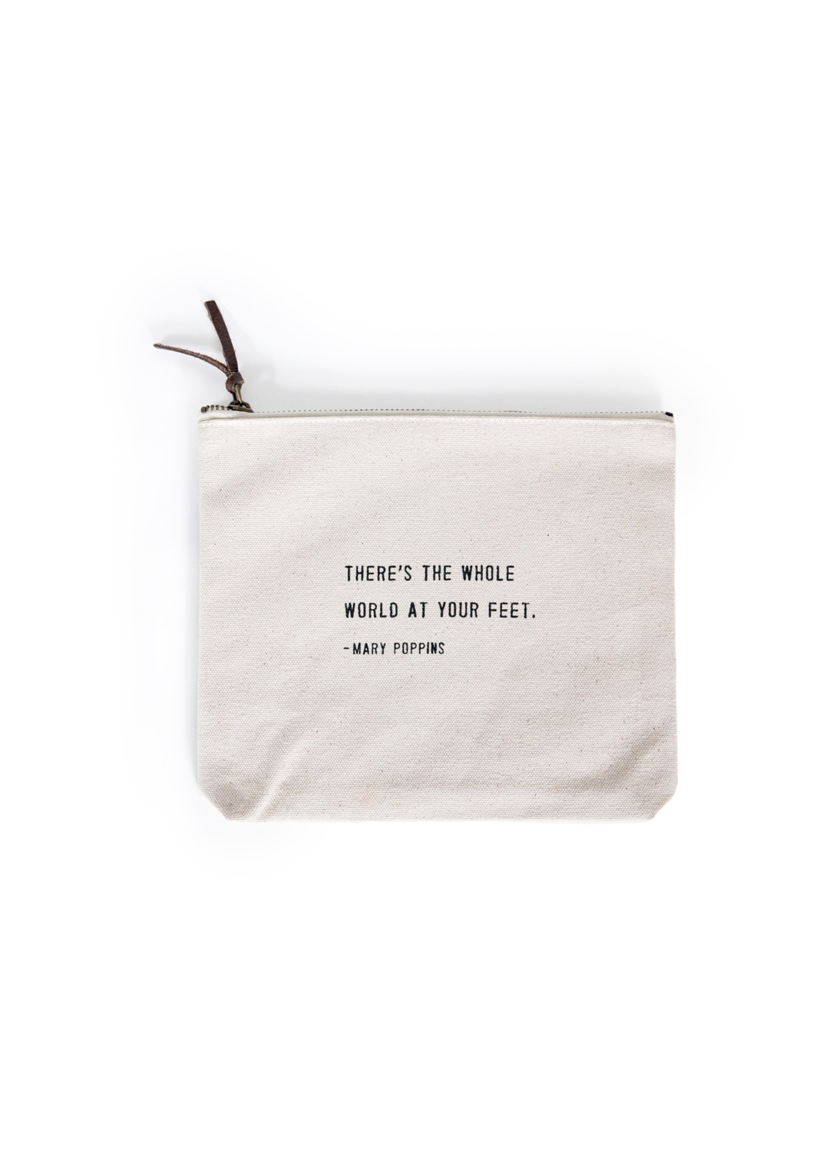 Sugarboo Canvas Zip Pouch - Mary Poppins