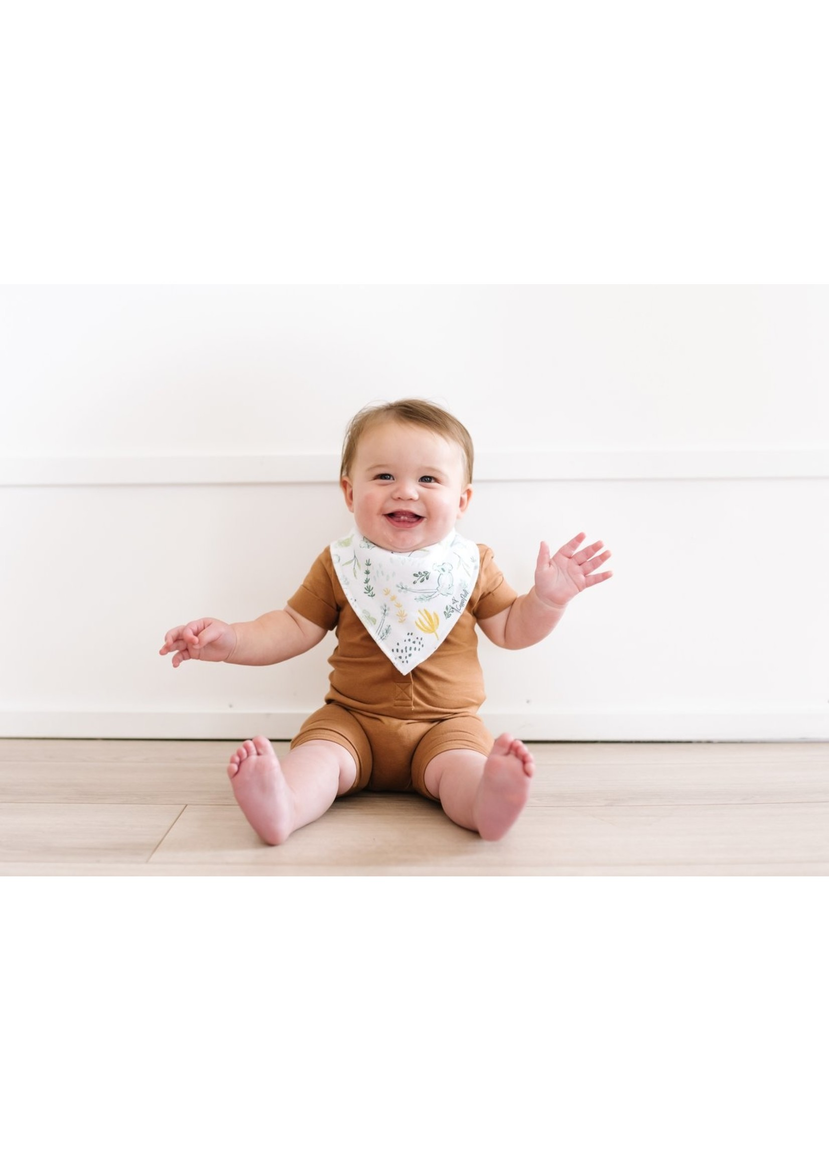 Copper pearl Baby Bandana Bibs - Aussie