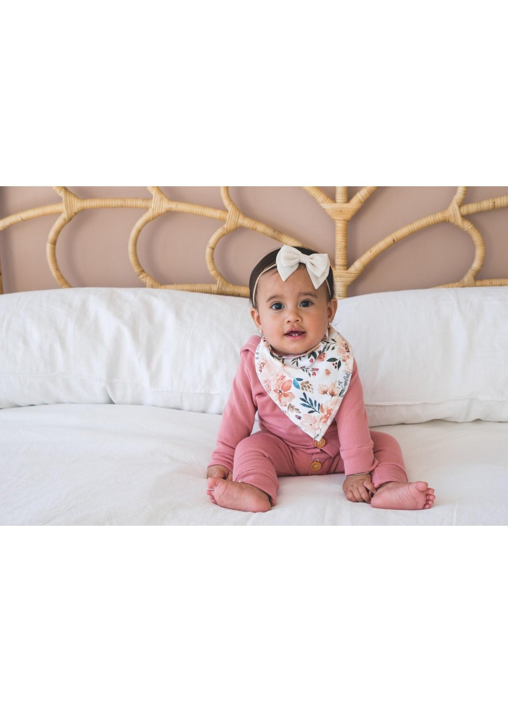 Copper pearl Baby Bandana Bibs - Autumn