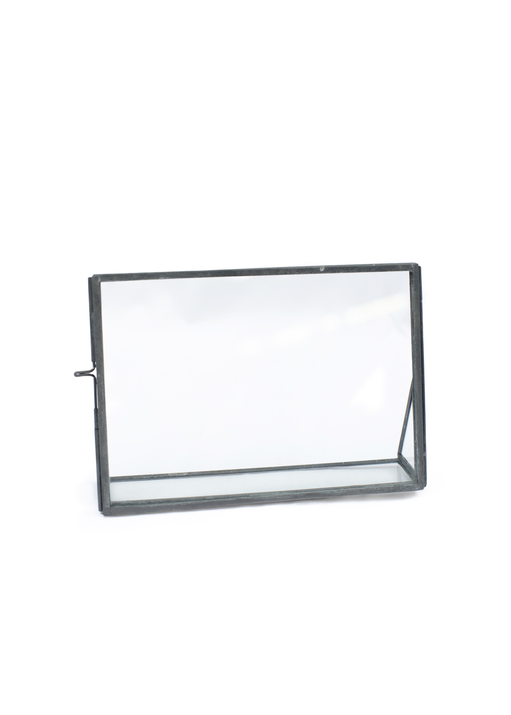 Sugarboo Horizontal Floating Glass Frame with Glass Stand