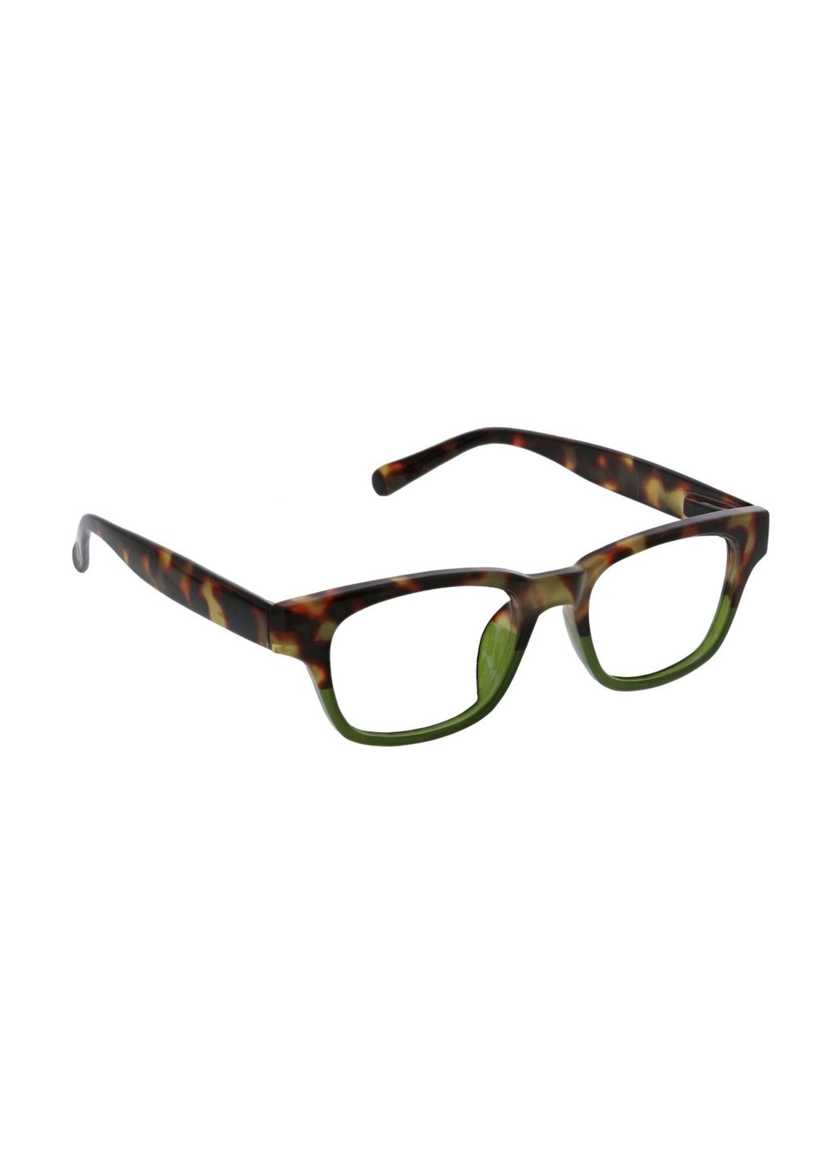 Peepers Layover Focus Tortoise/Green +2.75