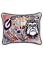 Catstudio UGA Catstudio Collegiate Pillow
