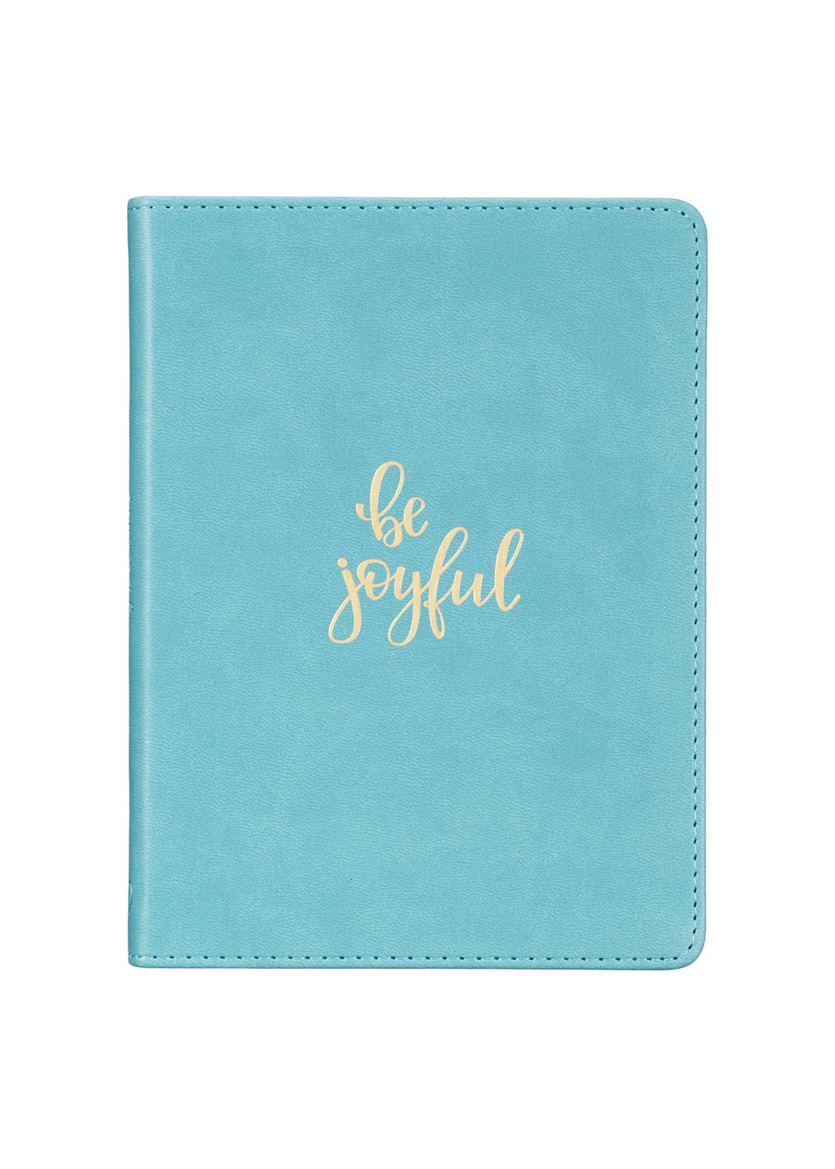 Be Joyful Faux Leather Journal