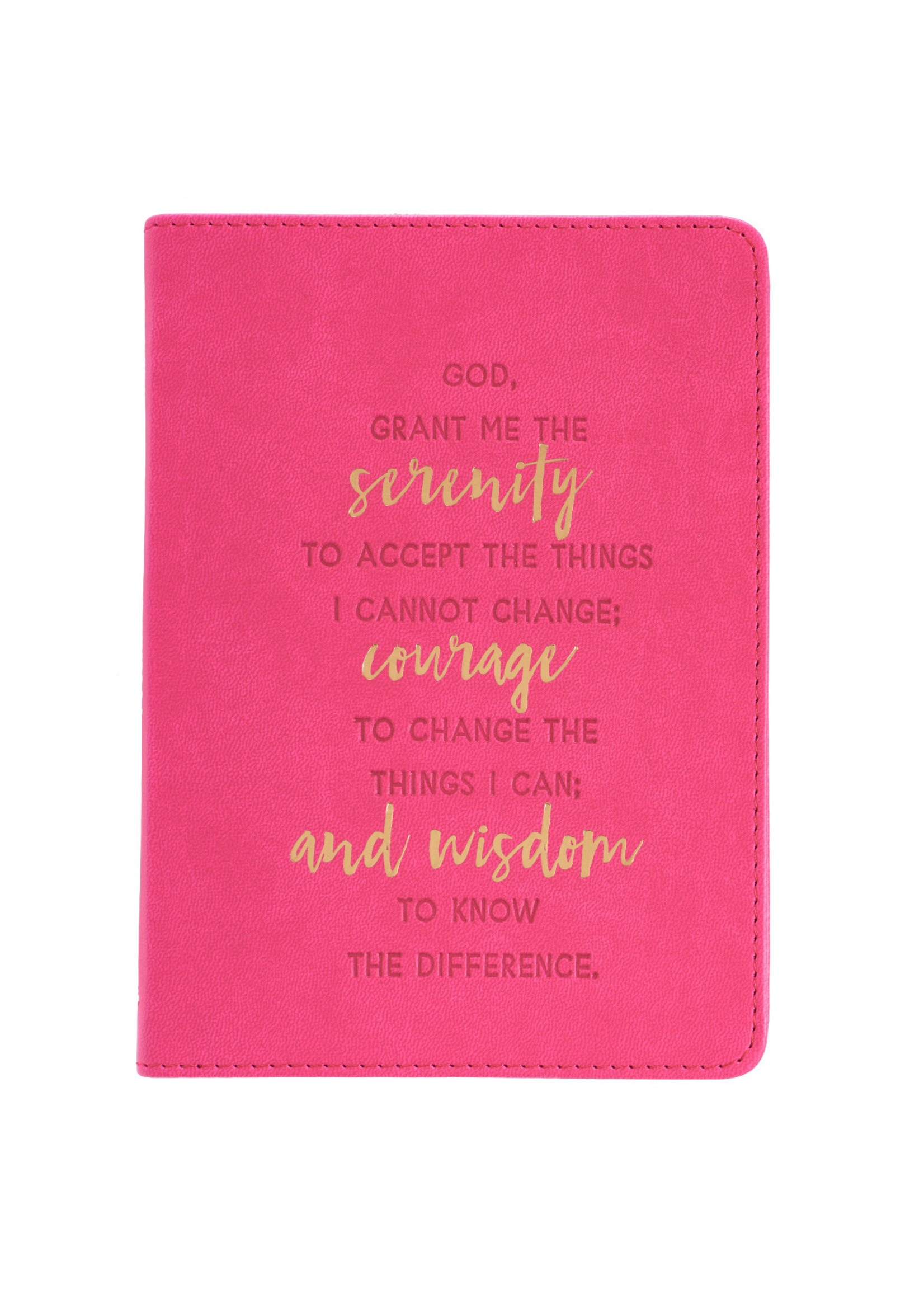 christian arts Serenity Faux Leather Journal