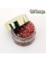 Kizmet Cosmetics Face Glitter - Chi Omega