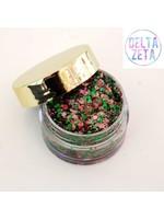 Kizmet Cosmetics Face Glitter - Delta Zeta