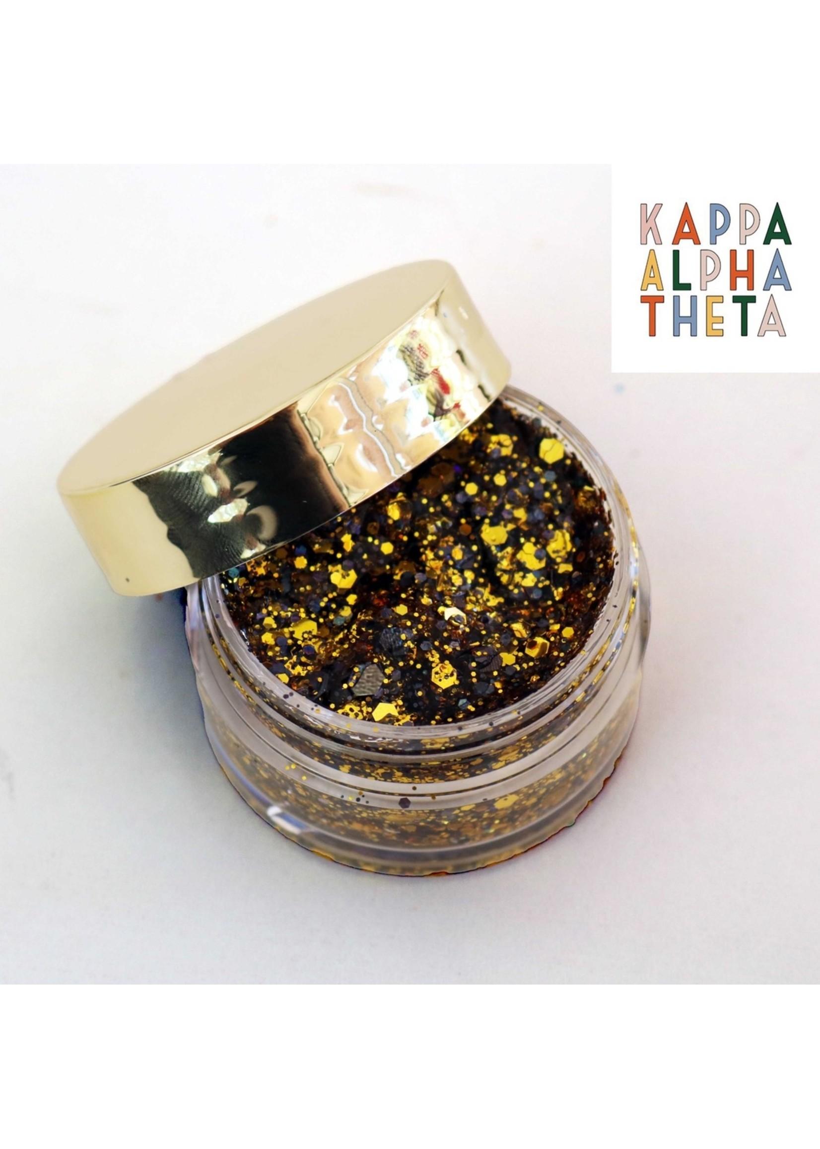 Kizmet Cosmetics Face Glitter - Kappa Alpha Theta