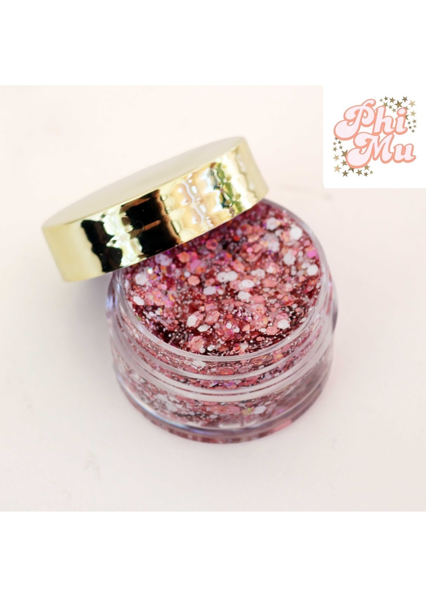 Kizmet Cosmetics Face Glitter - Phi Mu