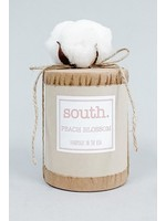 South Candle South. Candle - Peach Blossom