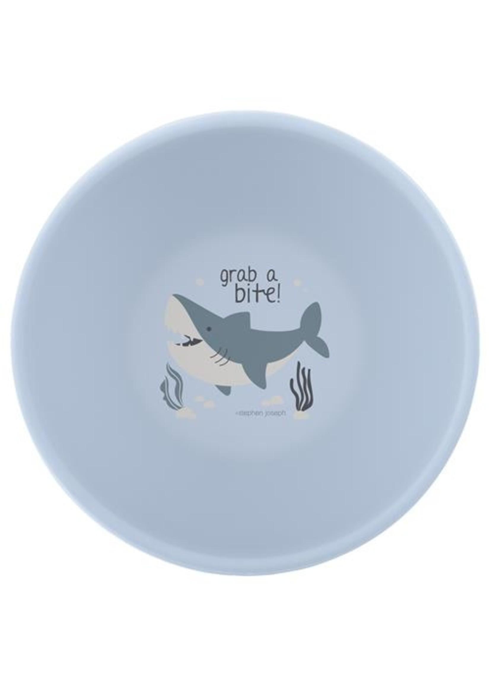 stephen joseph Silicone Bowl - Shark