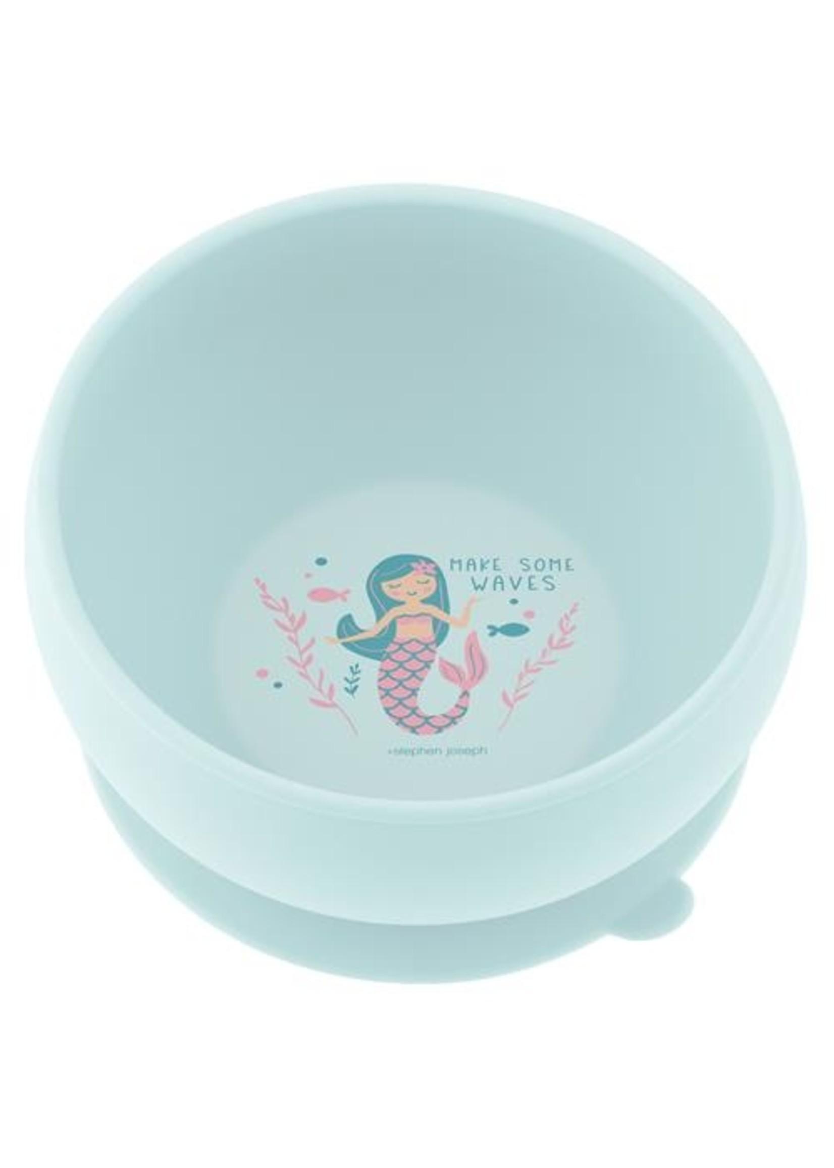stephen joseph Silicone Bowl - Mermaid