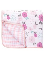 stephen joseph Muslin Stroller Blanket - Floral