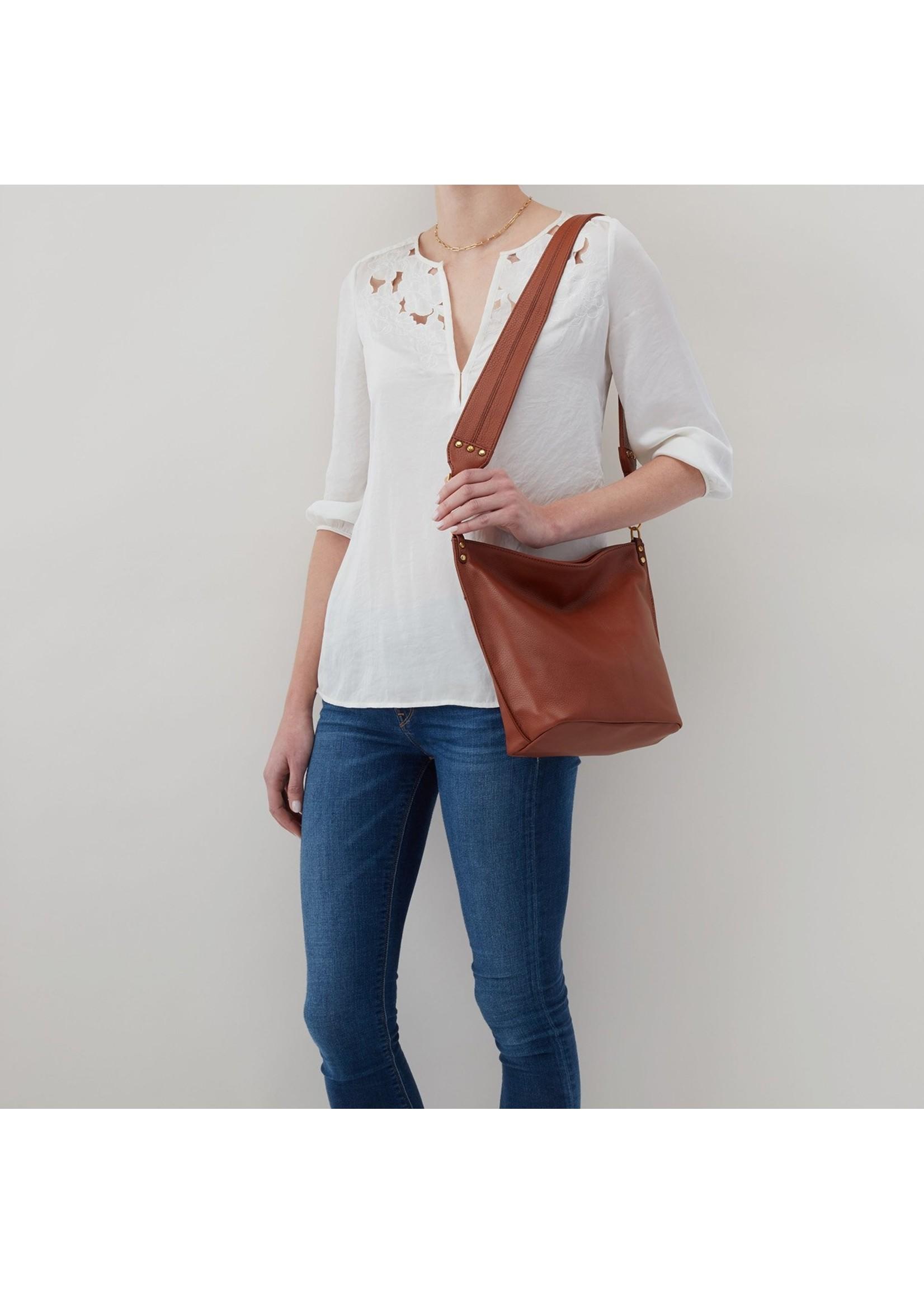 hobo Flare Shoulder Bag - Toffee
