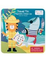 stephen joseph Travel Magnetic Dress Up - Shark & Tiger