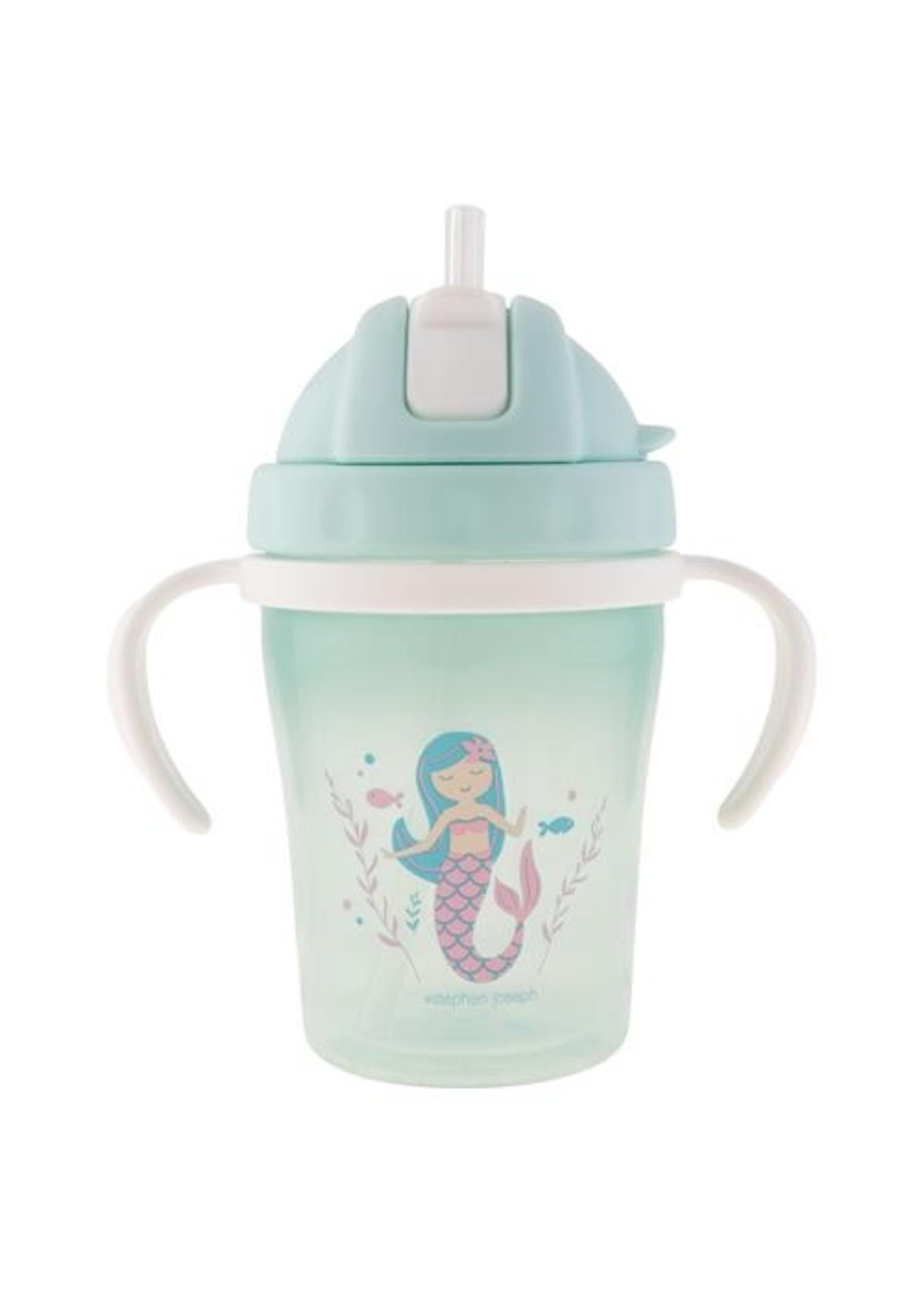 stephen joseph Straw Cup - Mermaid