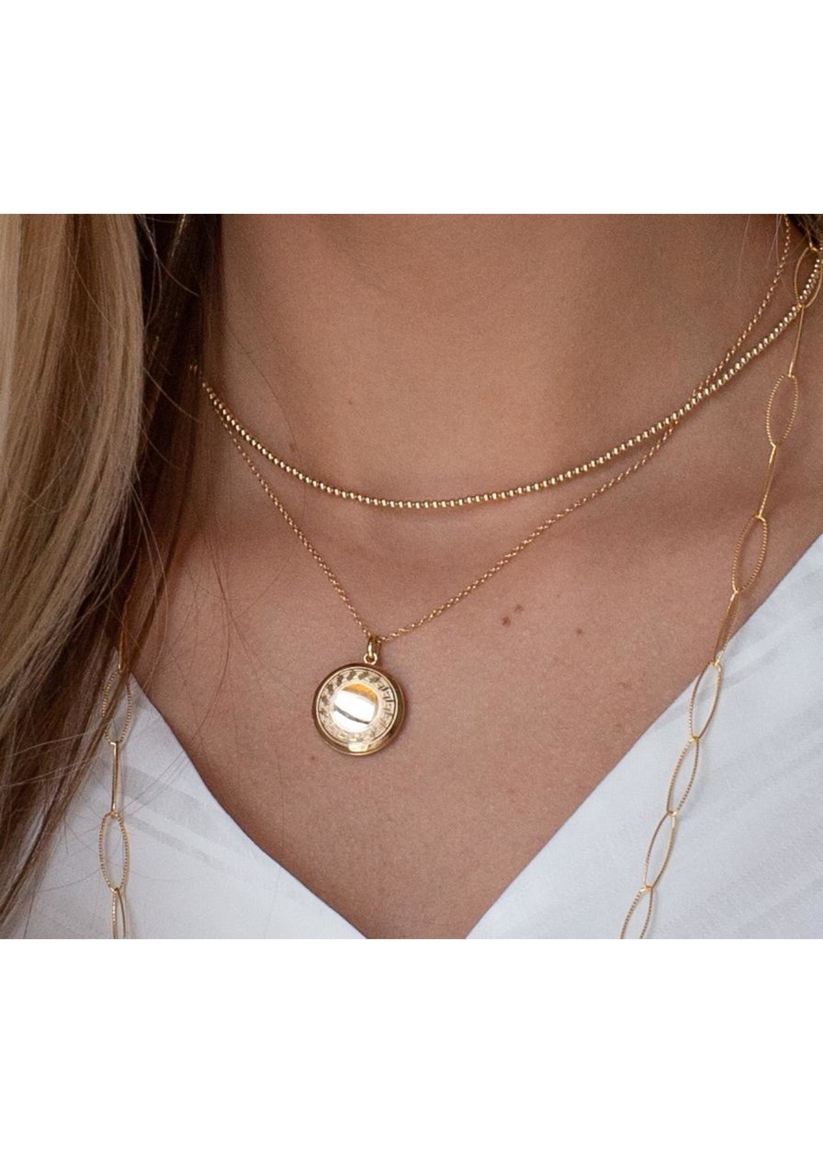 "enewton 16"" Necklace Gold - Cherish Small Gold Locket"