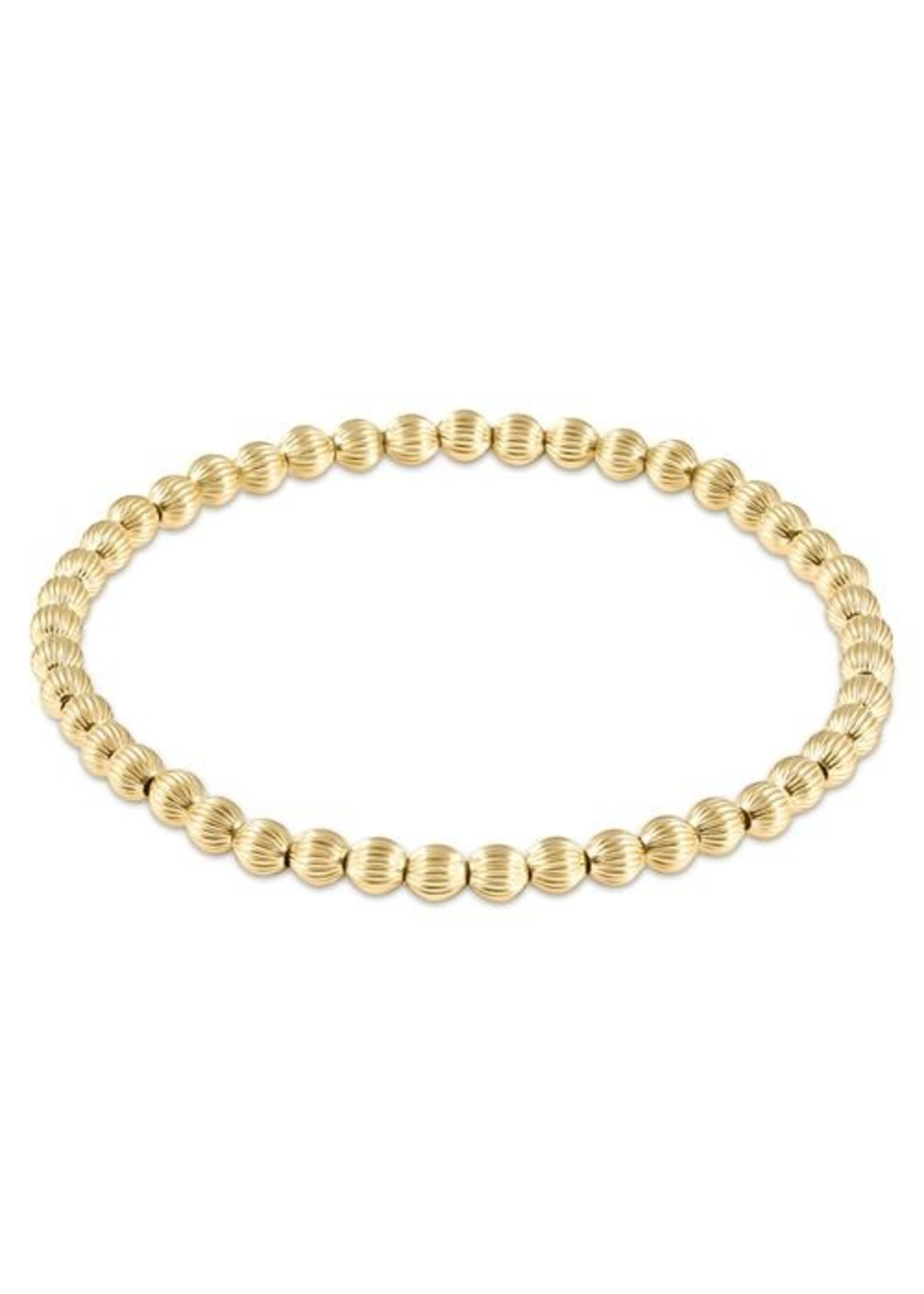 enewton Dignity Gold 4mm Bead Bracelet