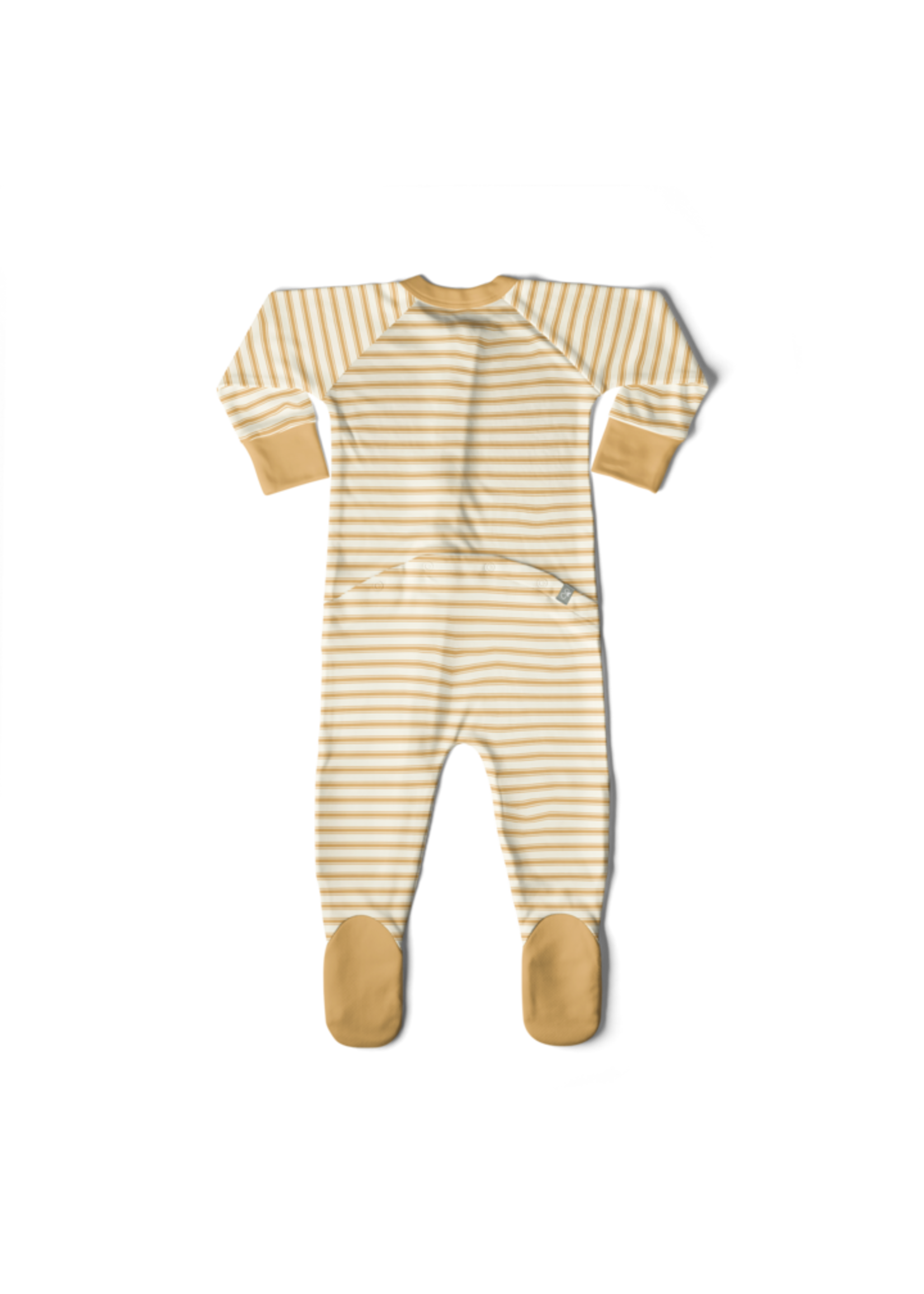 Goumi Kids Goumikids Footie - Sun Stripe 18-24m