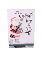 Glory Haus Most Wonderful Time Santa Towel