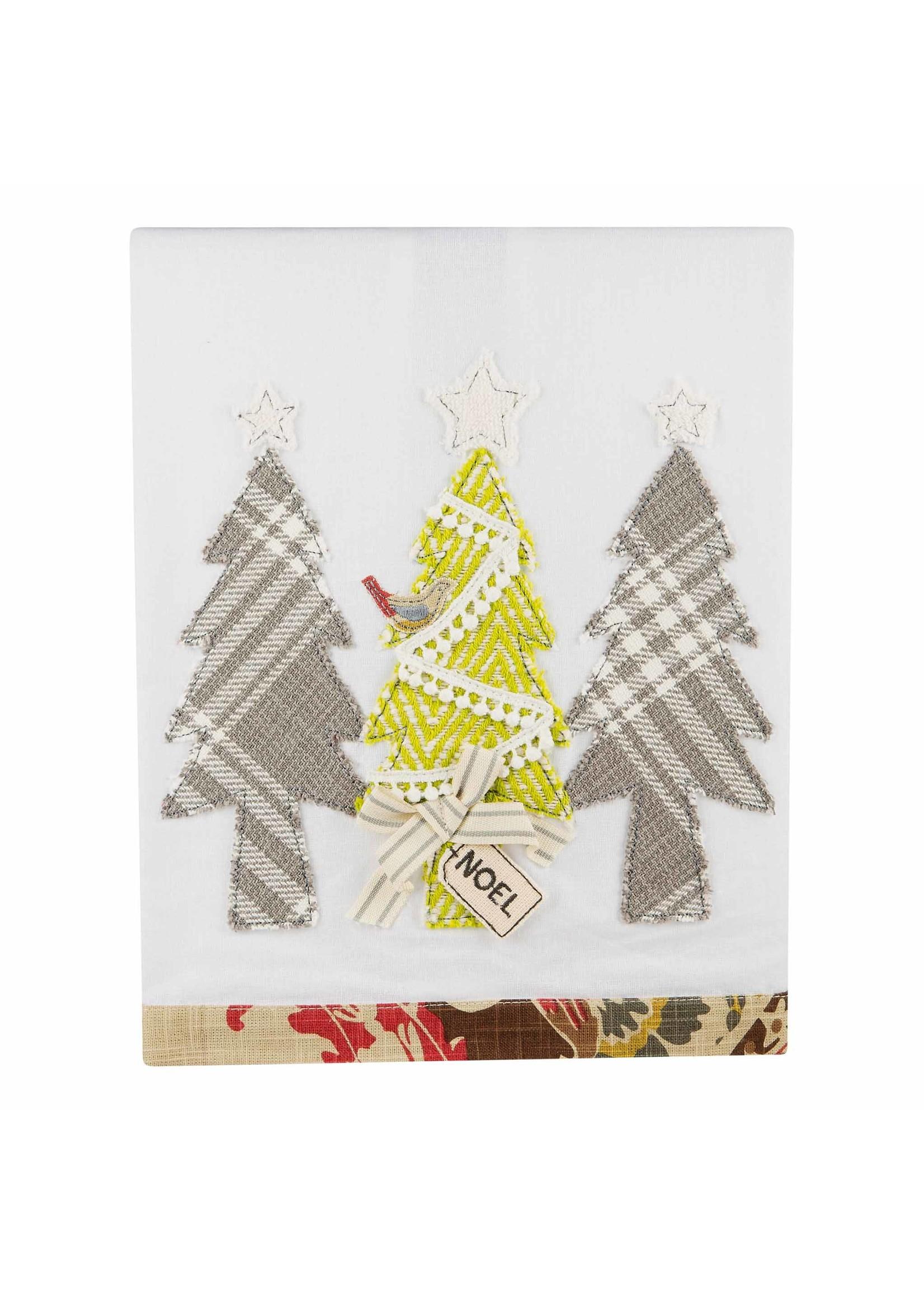Glory Haus Noel Christmas Trees Towel