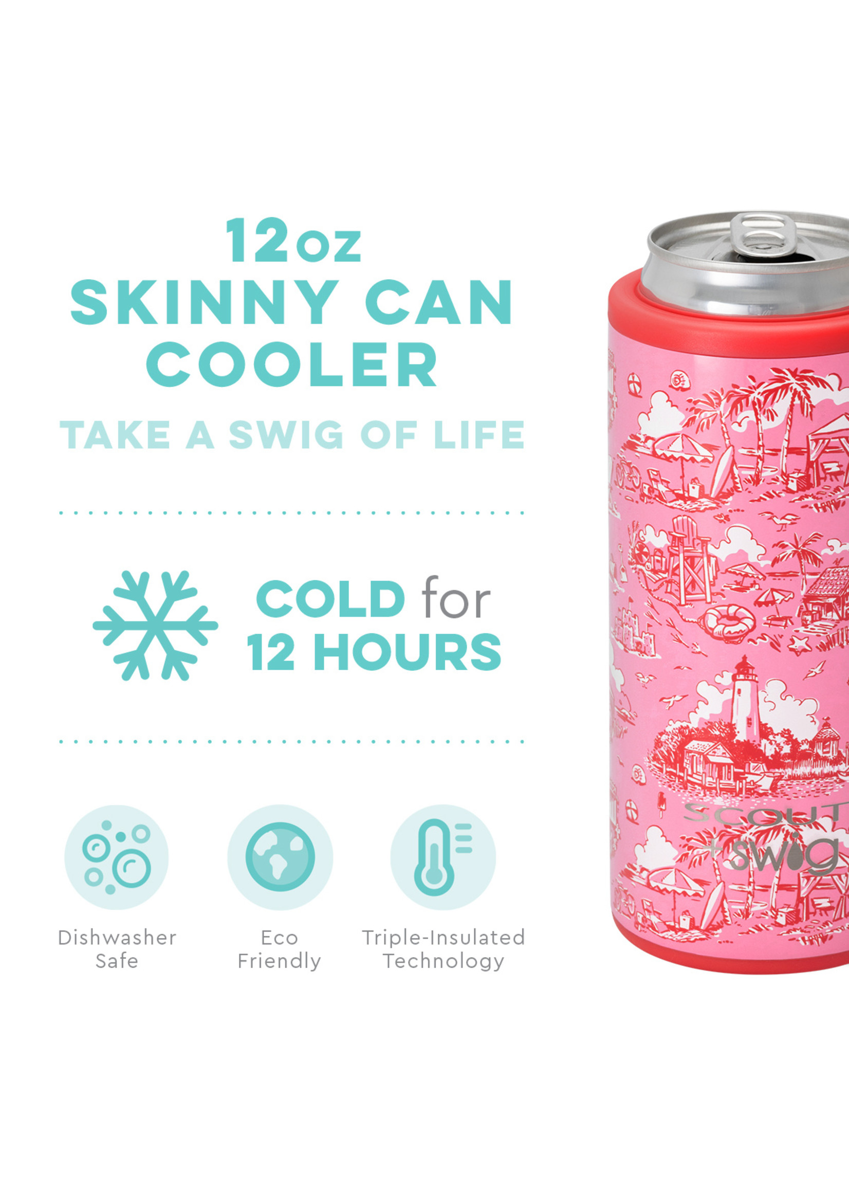 swig Swig Can Cooler Beachy Keen Scout