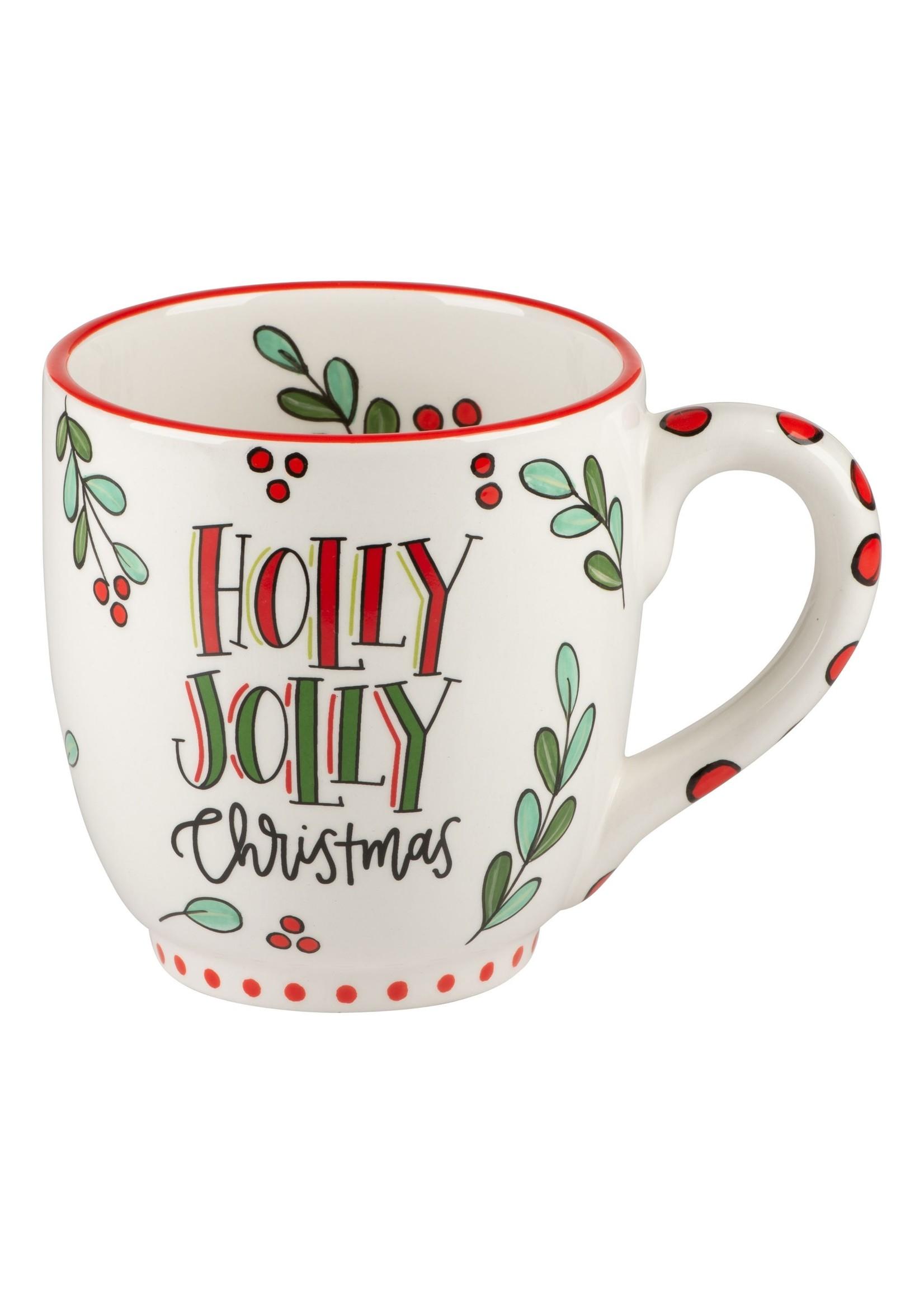 Glory Haus Holly Jolly Christmas Mug