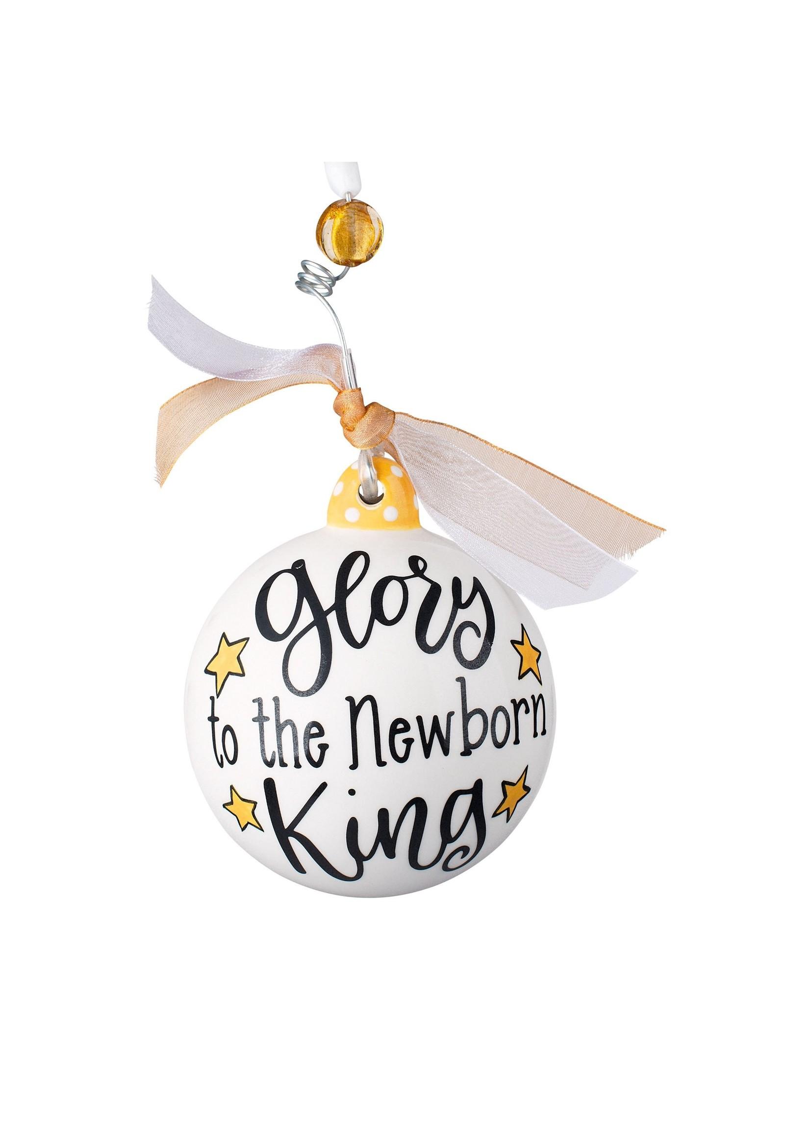 Glory Haus Glory To The Newborn King Ornament