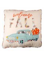 Glory Haus Welcome Fall Pumpkin Truck Pillow
