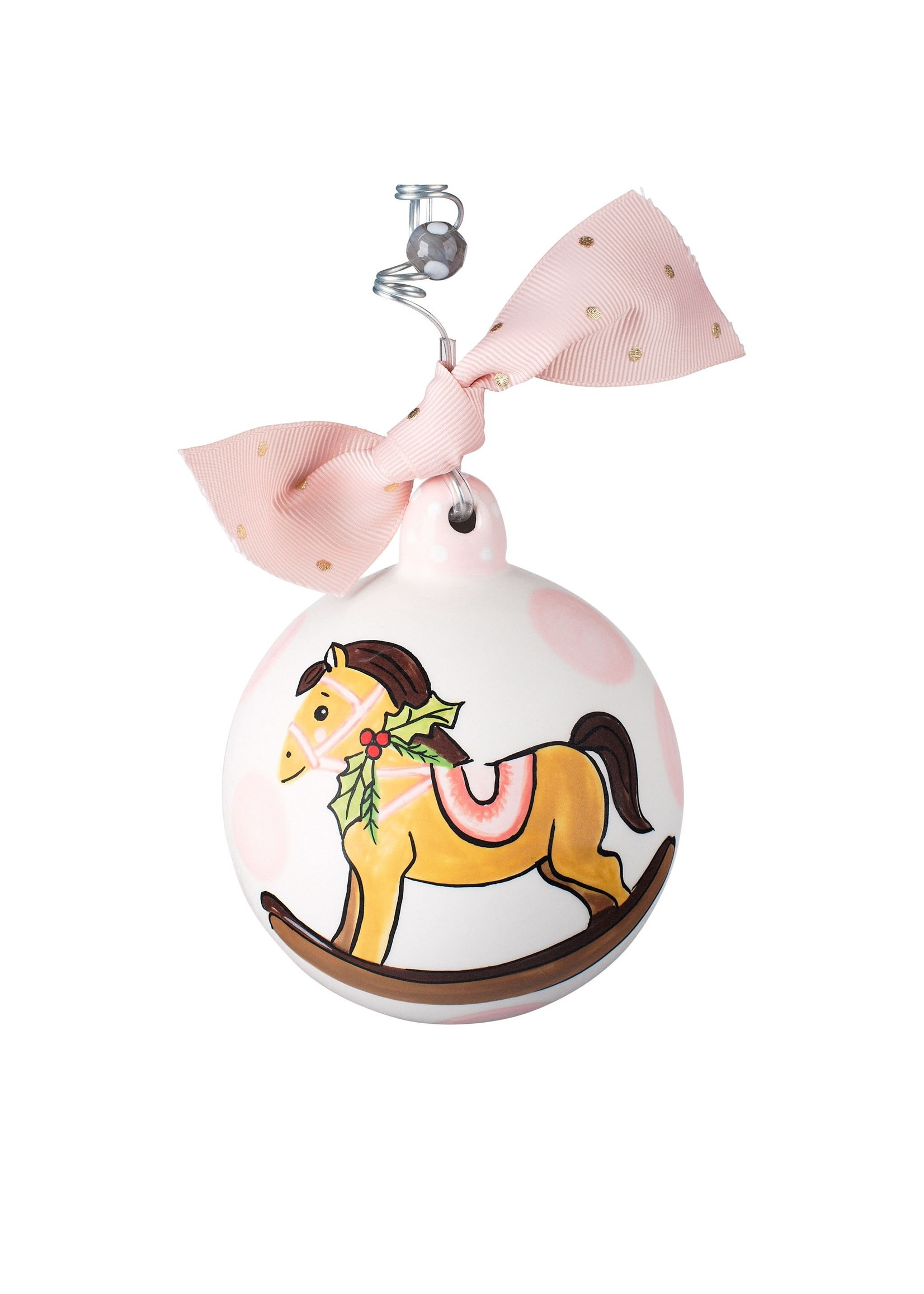 Glory Haus Pink Baby's 1st Christmas Ornament