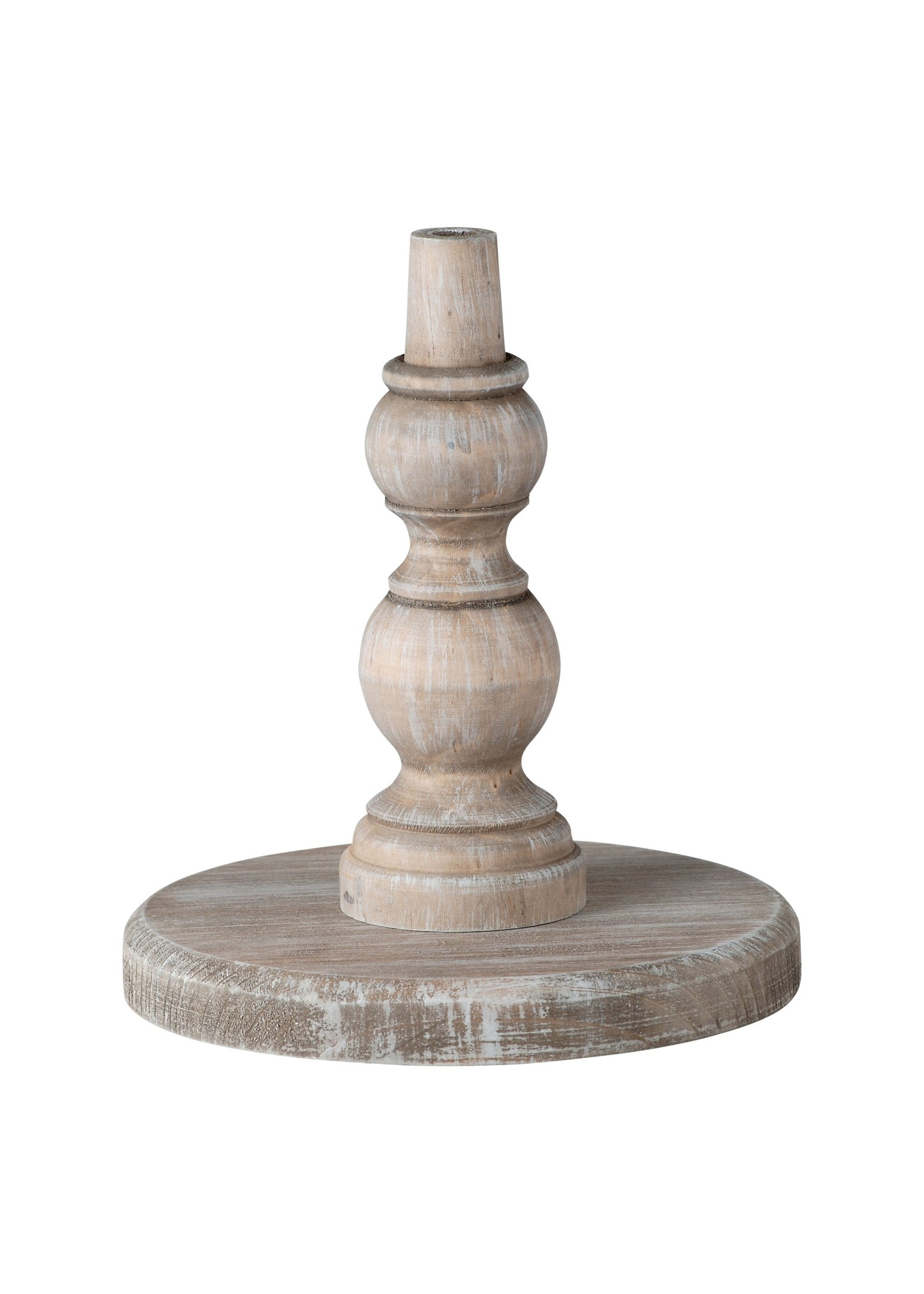Glory Haus Neutral Wood Base for Toppers