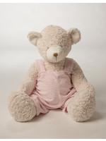 """birchwood trading Large Applesauce Bear 24"""" Pink"""