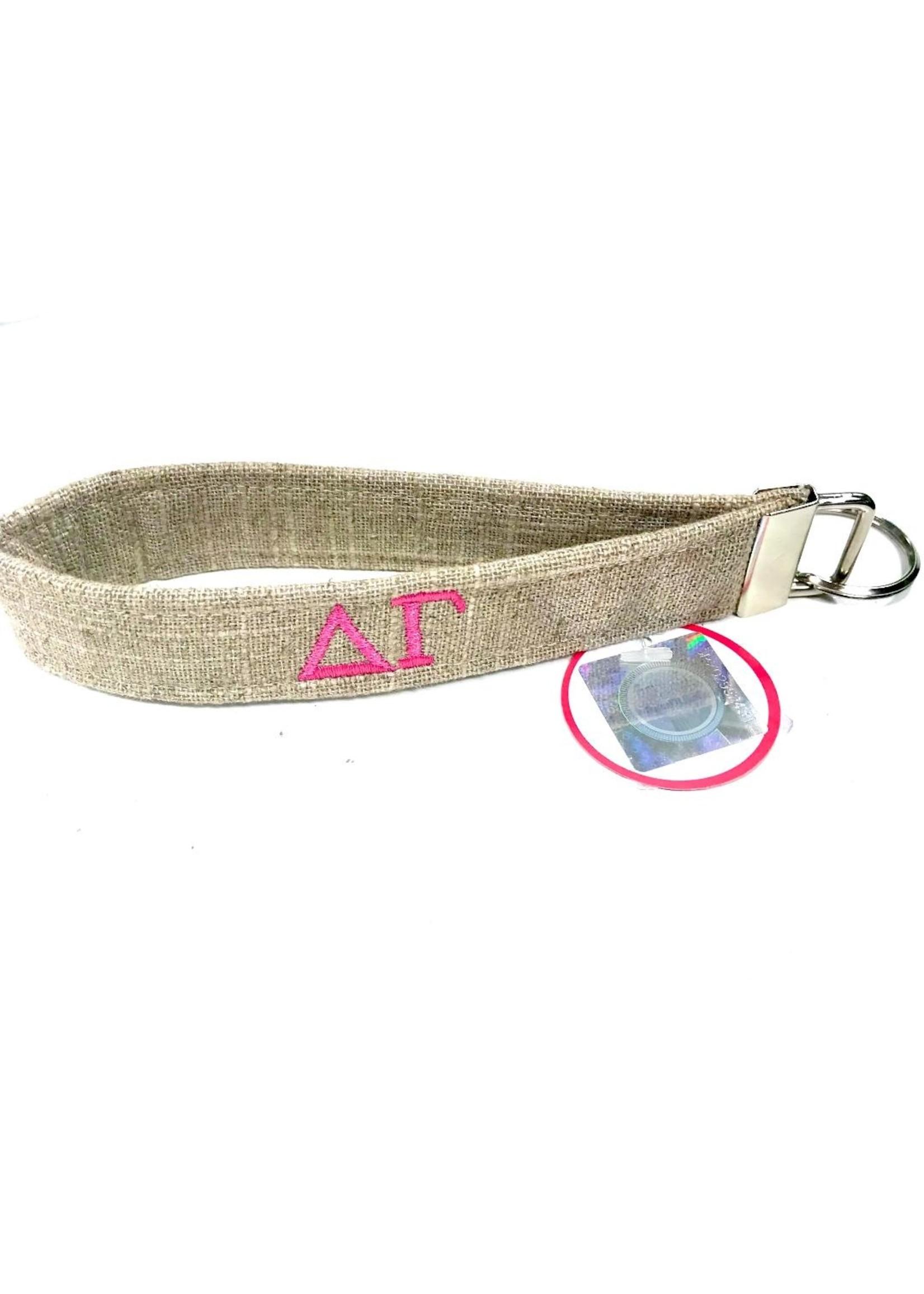 Dog Collar World Delta Gamma Keychain
