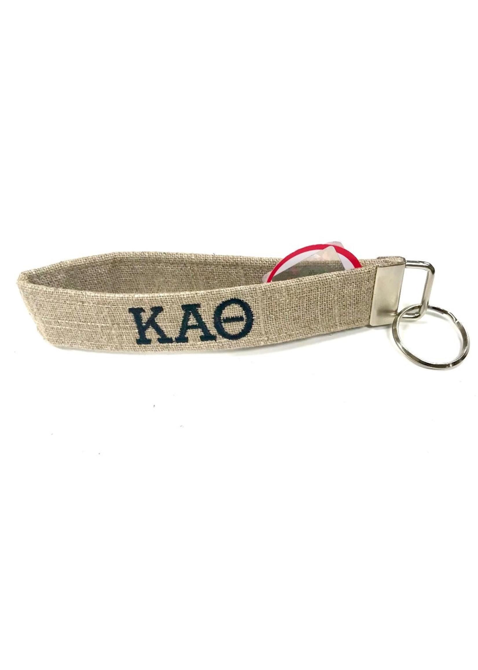 Dog Collar World Kappa Alpha Theta Keychain