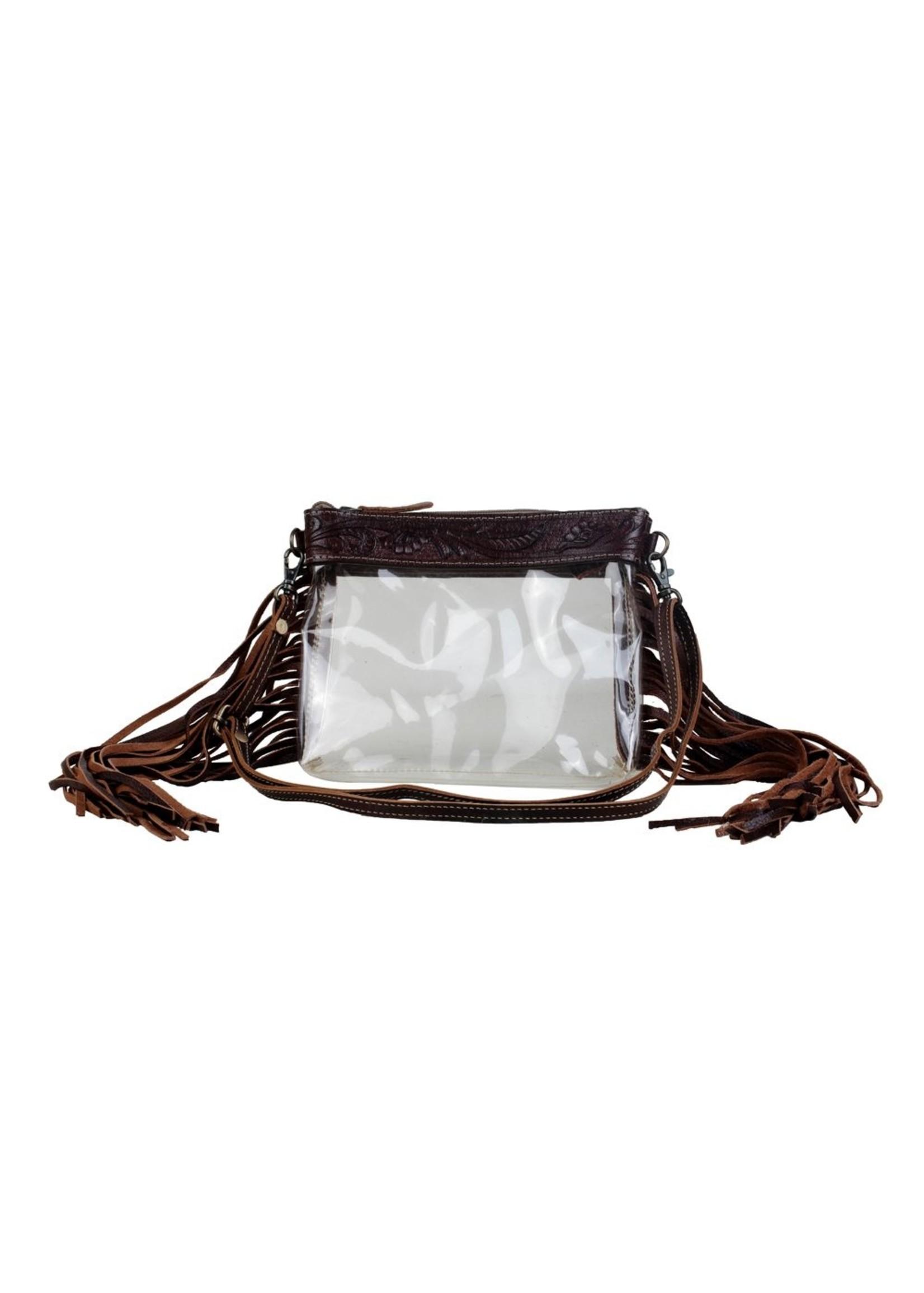 myra Myra Intricate Clear Bag