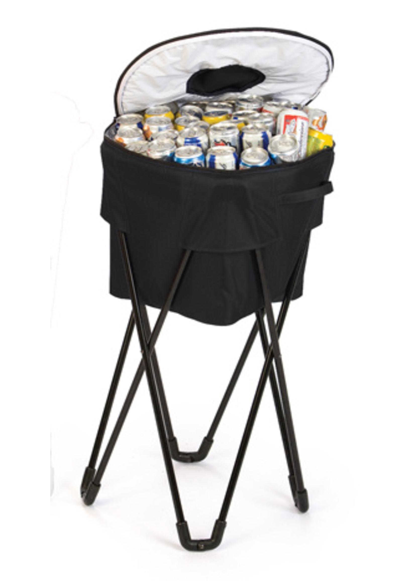 Oak & Olive/Picnic Plus Tub Cooler - Black
