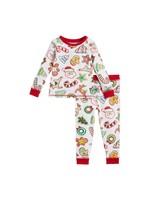 Mudpie Christmas Cookie Pajamas