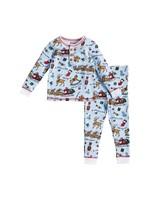 Mudpie Night Before Christmas Boy Pajamas