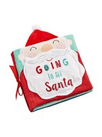 Mudpie Going to see Santa Plush Book