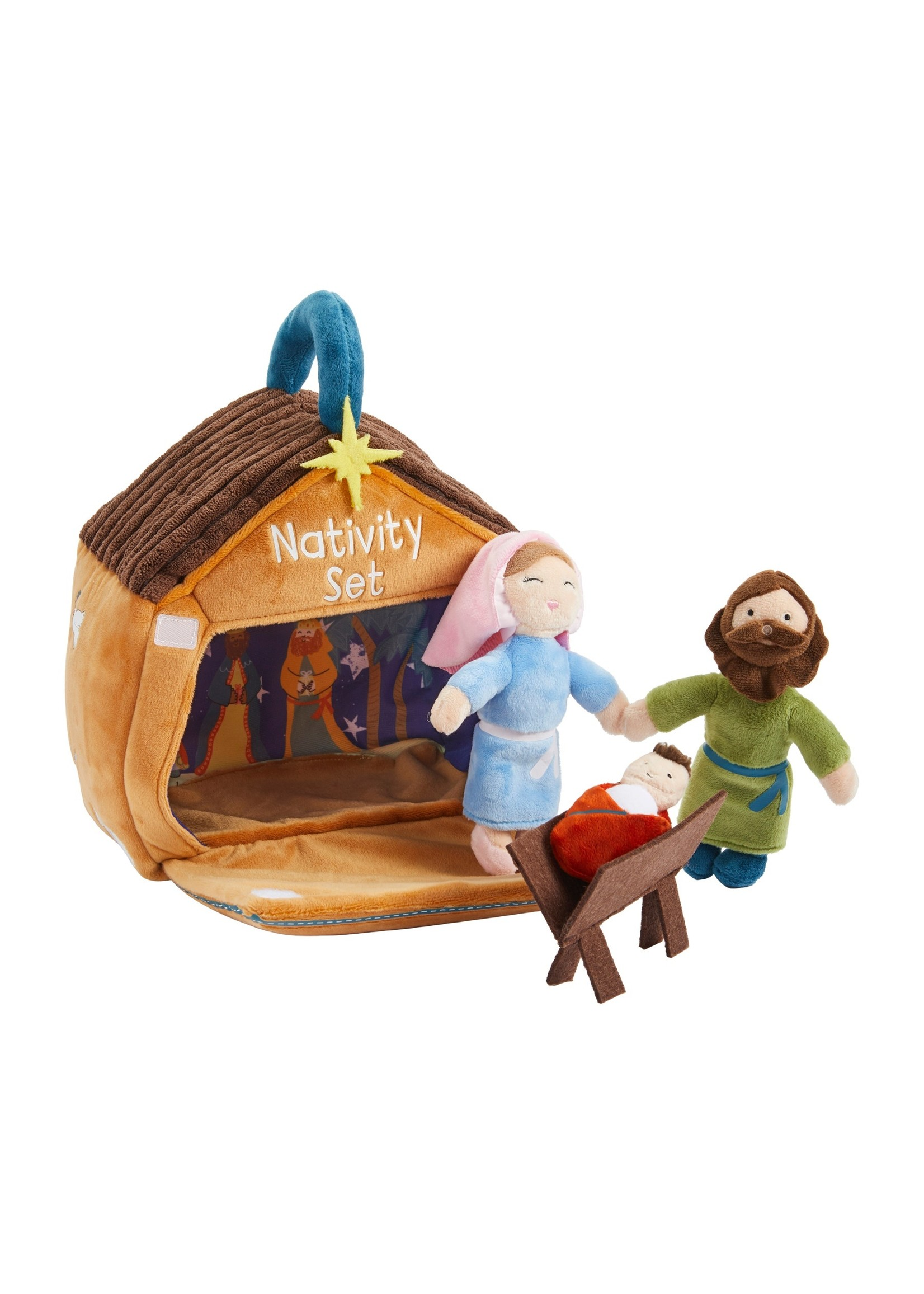 mud pie Nativity Plush Set