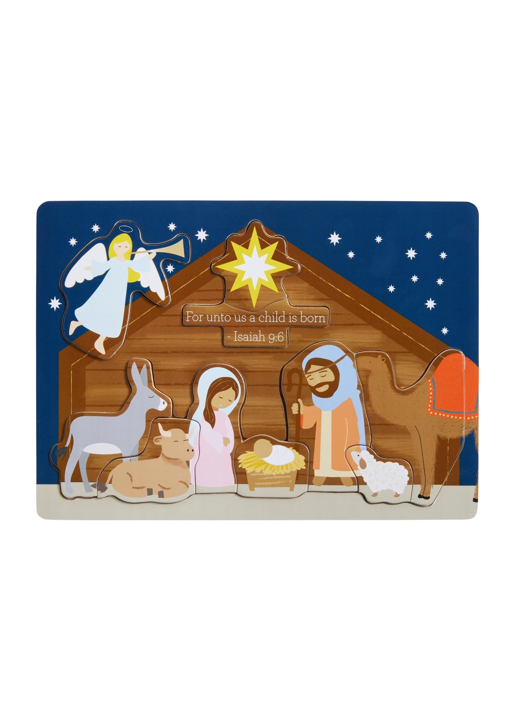 Mudpie Nativity Puzzle