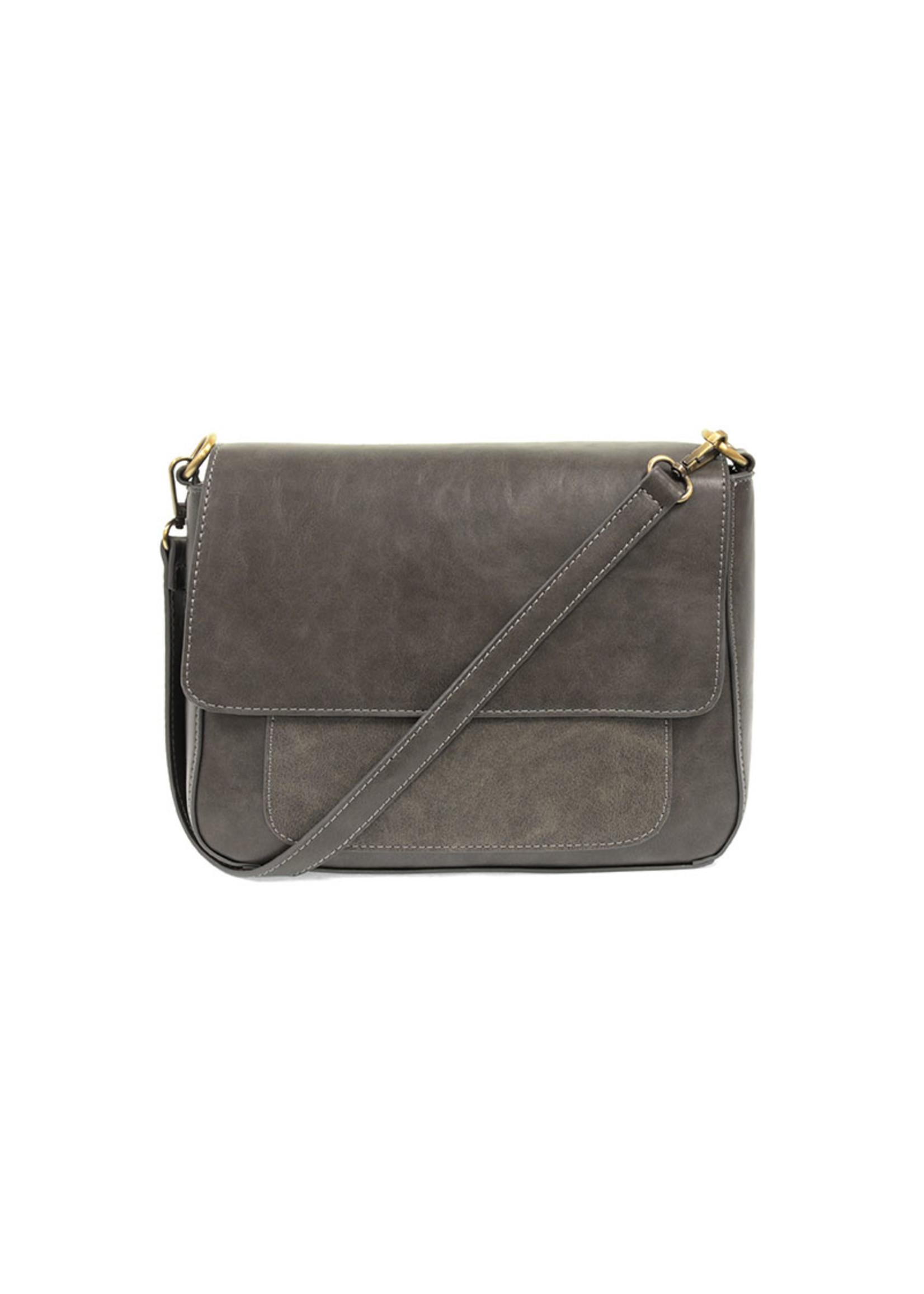 joy susan Lexie Convertible Shoulder Bag Grey