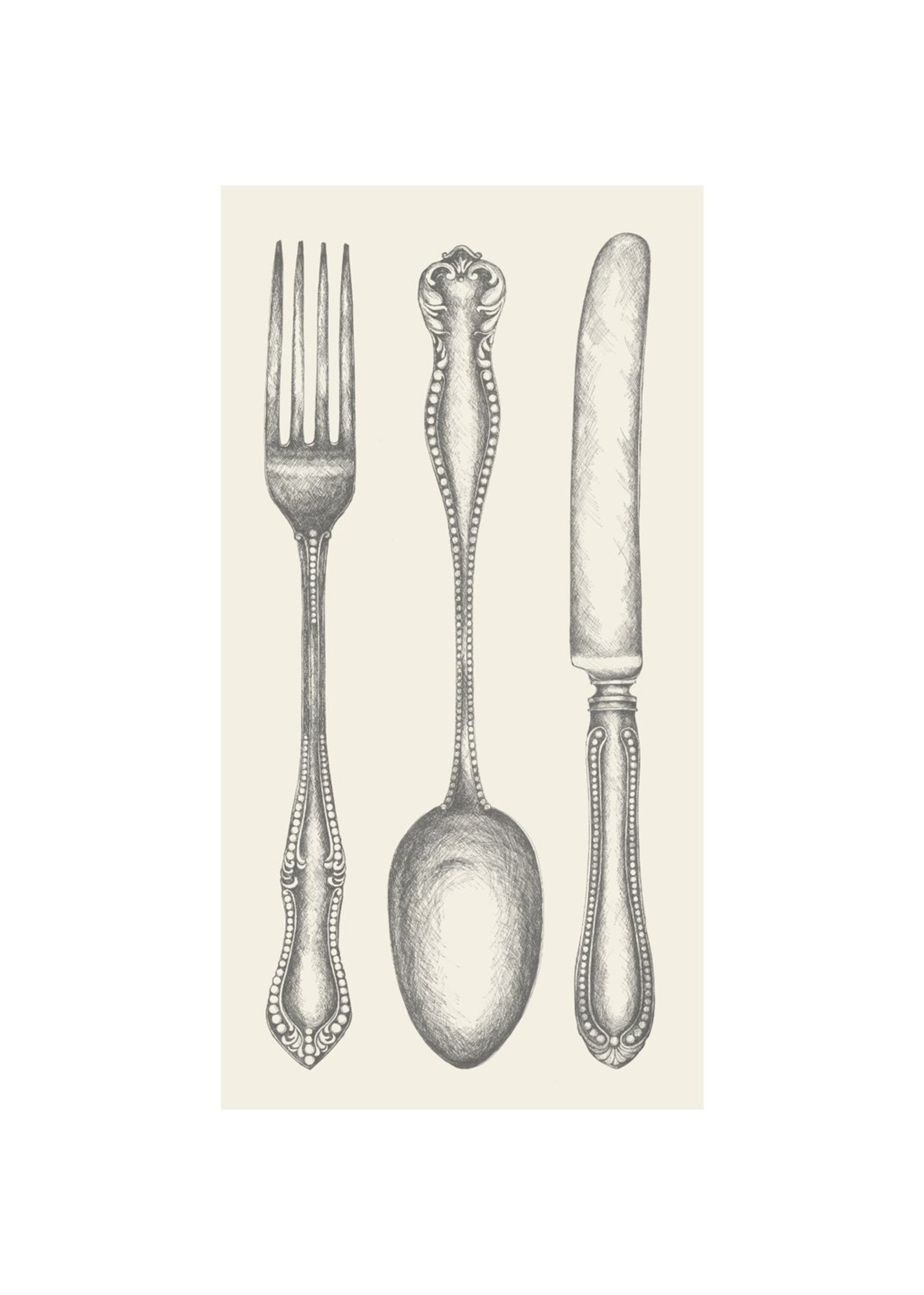 Hester & Cook Classic Cutlery Guest Napkin
