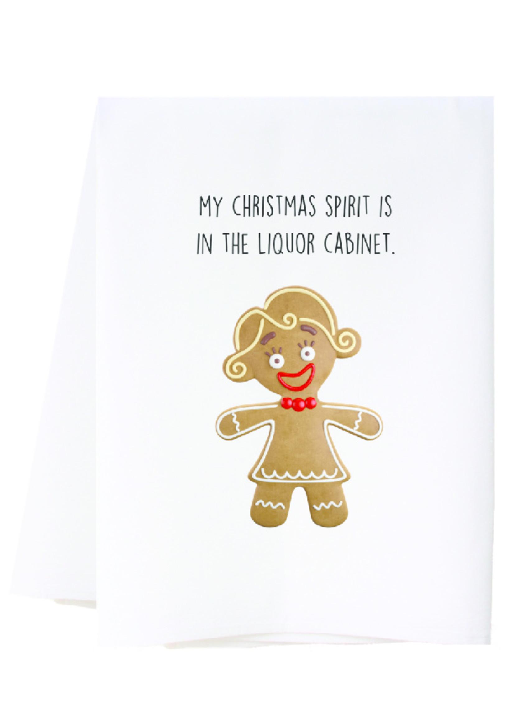 southern sisters Linen Towel - Christmas Spirit