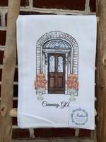 southern sisters Linen Towel - Autumn Door Cumming, GA
