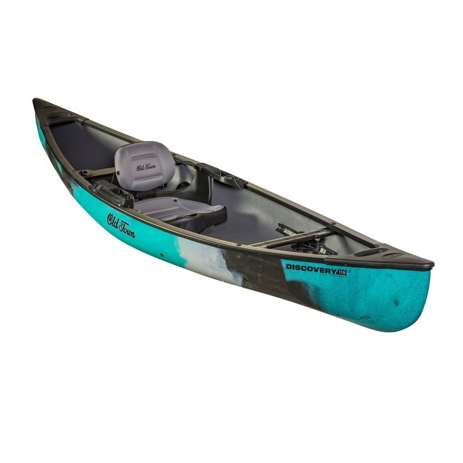 Old Town Discovery 119 Solo Sportsman Fishing Canoe